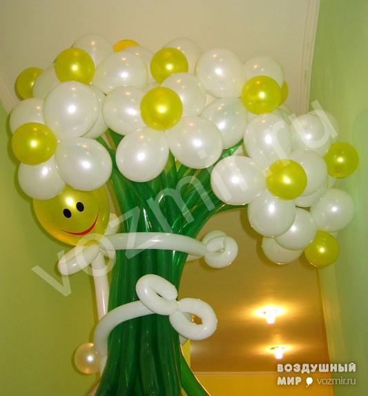 Украшение шарами своими руками день рождения