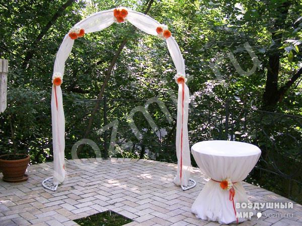 Как сделать арку для свадьбы пошаговая
